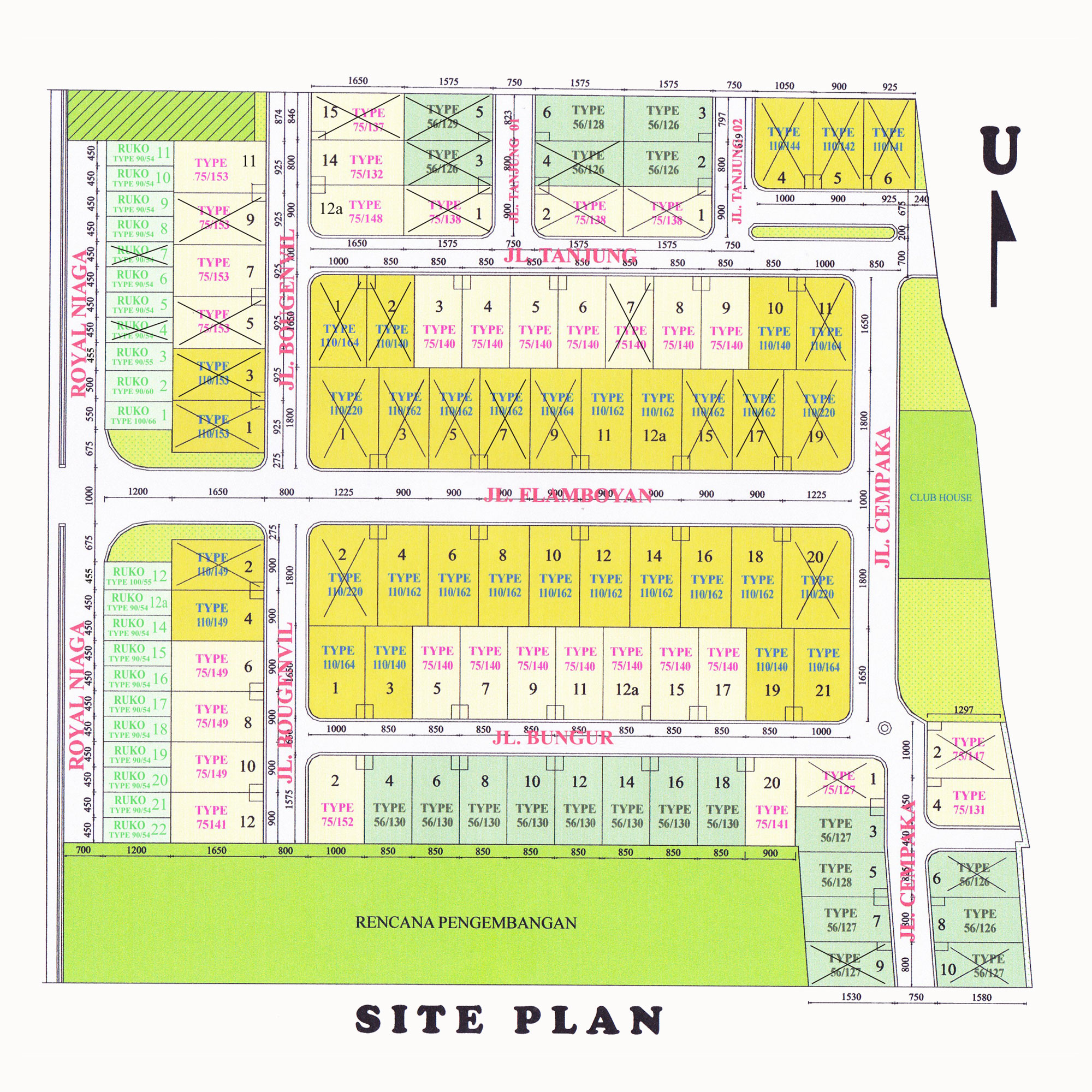Siteplan-Royal-Maguwo